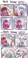 Ysef Sheep comics by NightMargin