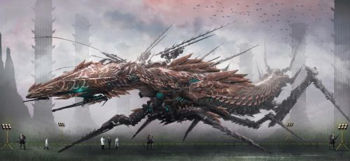 Captured Swarm Titan by GMORK81