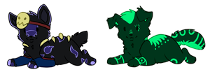 Toomoko Tiny Chibies by Maonii