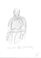 Ed Sheeran (GOT) by JMK-Prime