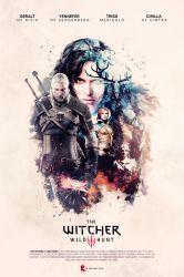 The Witcher 3 - Unofficial Poster by KokeNunezWorks