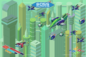 Isometric Shoot 'em up mockup N 2 by kirokaze