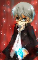 Persona 4 - Intention to Kill by graff-eisen
