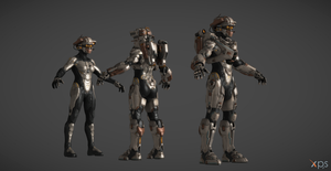 Halo 5 Linda-058 XPS model V1 by navie9888ch