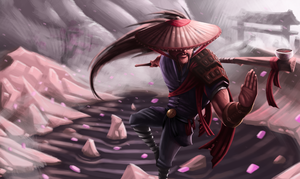 Martial Yasuo by Splodeman