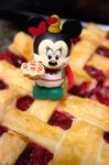 Minnie Mouse Pie Vinylmation by LDFranklin