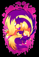 Stunky Skunks - PKMN (T-Shirt) by Versiris