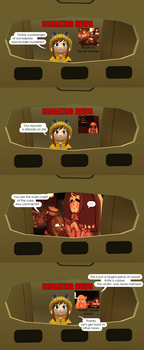 A Hat in Time: Breaking news (eng) by Natalya-Chan