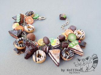 Bracelet - Sweet tooth by polyflowers