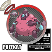 #11: Puffkat by El-Dark-Core