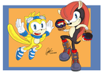 mighty and ray by Bumblebee358