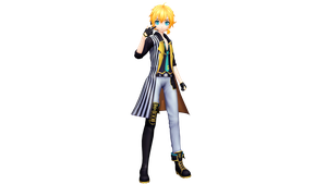 Project Diva X Holy Lancer Len by WeFede