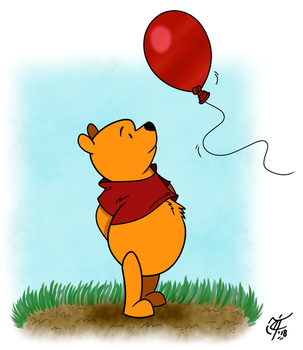 Pooh Bear by UncleScooter
