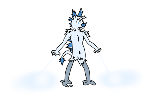 Art trade 2 of 4: Icy Jack by Davey-The-Human