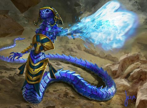 MTG- Spellweaver Eternal by jason-felix