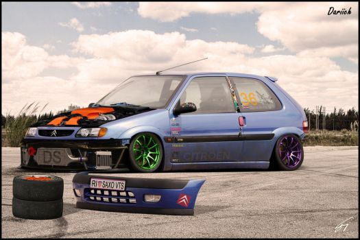 Citroen Saxo by Dariich