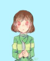 Undertale - Chara by AMMaplE