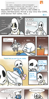 Askme_with gaster by dust4148