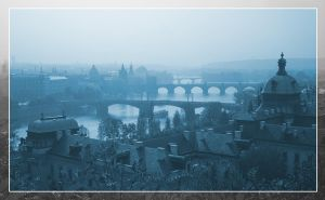 Blue Prague by wosicz