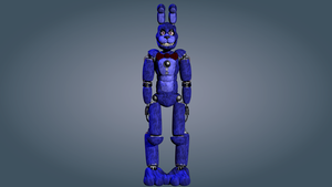 Stylised Bonnie WIP 4 by PuppetFactory