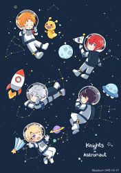 20180607 Knights x astronaut by Pabulabum