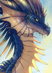 Dragon Bust 1 by Majime