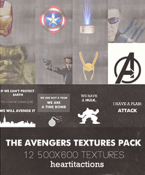 The Avengers Textures Pack by asweetnightmare