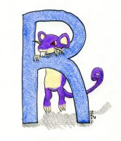 R is for Rattata
