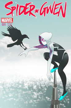 Spider Gwen ( Rudragon COVER) by phation