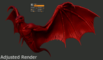 Wings Study Render Test Comparison (GIF) by Rebecca1208