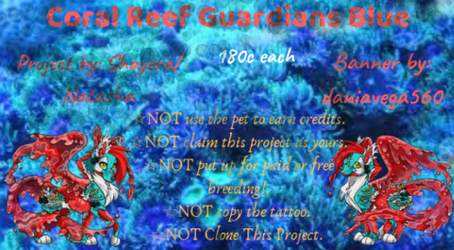Banner Coral Reef Guardians Blue by daniaalexa