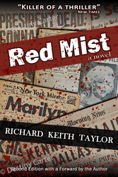 Red Mist Book Cover by Destiny-Carter