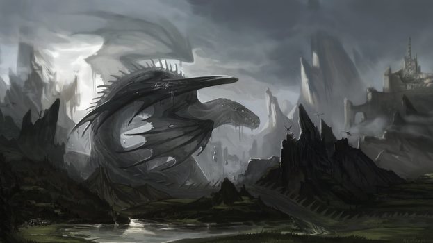 C:. Great basilisk wyrm by Remarin
