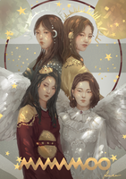 MAMAMOO by Ruiwen-art