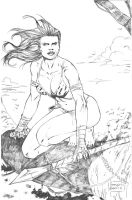 Jungle Girl by AssisEzequiel
