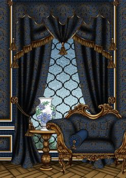 Regal Blueberry Interior by Yagellonica