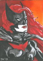 Batwoman Card by DKHindelang