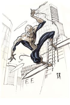Spider-Man-Gray-tones by StephaneRoux