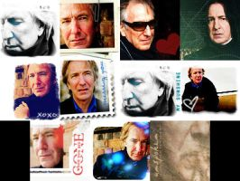 Alan Rickman Icon Pack by SerenaLuv