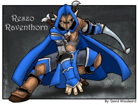 Commission: Reszo Raventhorn by badgerlordstudios