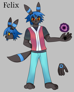 Felix The Umbreon by Draw-ze-Drawing