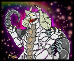 Ultraman Tiga: Silvergon and his Underworld by earthbaragon