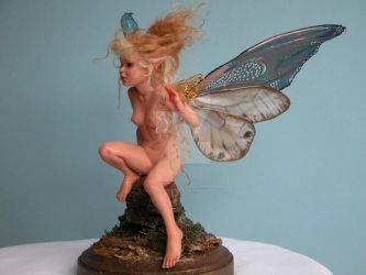 HONEY faery  by  Nadiia Evans by polymer-people