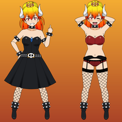 Bowsette (My Version) + Export by MasterWedgier