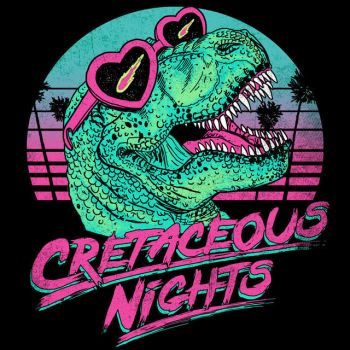 Cretaceous Nights by HillaryWhiteRabbit