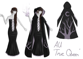AU - 'True Queen' by Snibella