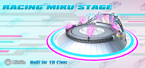 2013 Racing Miku Stage MMD by Digitrevx