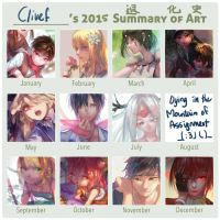 Summary art 2015 by christon-clivef