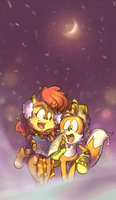 snowfrost :Sally and Tails: by edtropolis