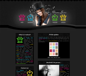 'World of crowns' 36. layout with Victoria Justice by Sharah11